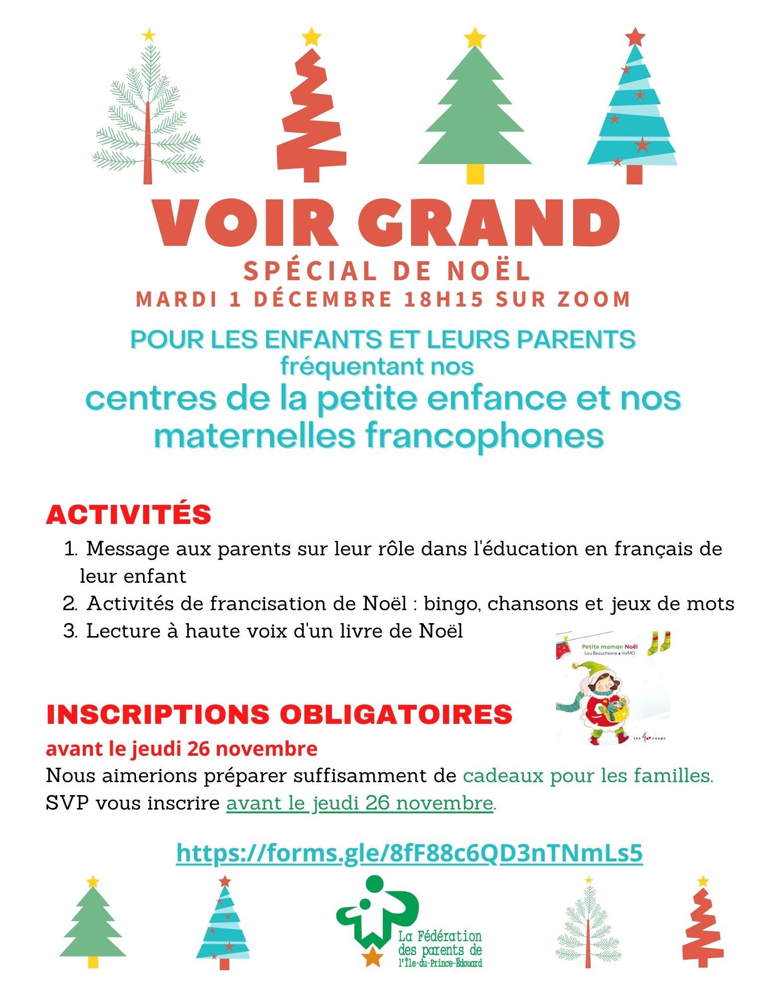 Voir Grand Noël CPE + M